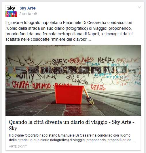 sky arte su Urban Facts