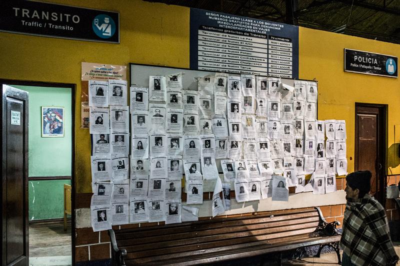 Bolivia, i nuovi desaparecidos