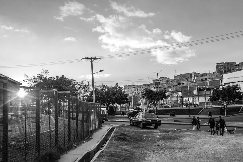 Ciudad Bolivar periferia di Bogotà -