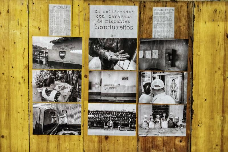 Urban Facts a Milano / per la carovana honduregna