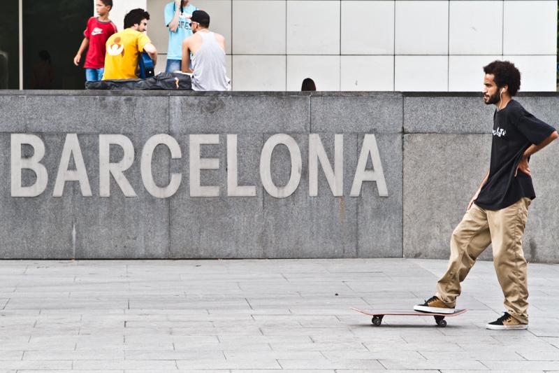 Skater @ MACBA Barcelona