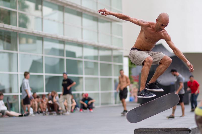 Skater @ MACBA Barcelona -