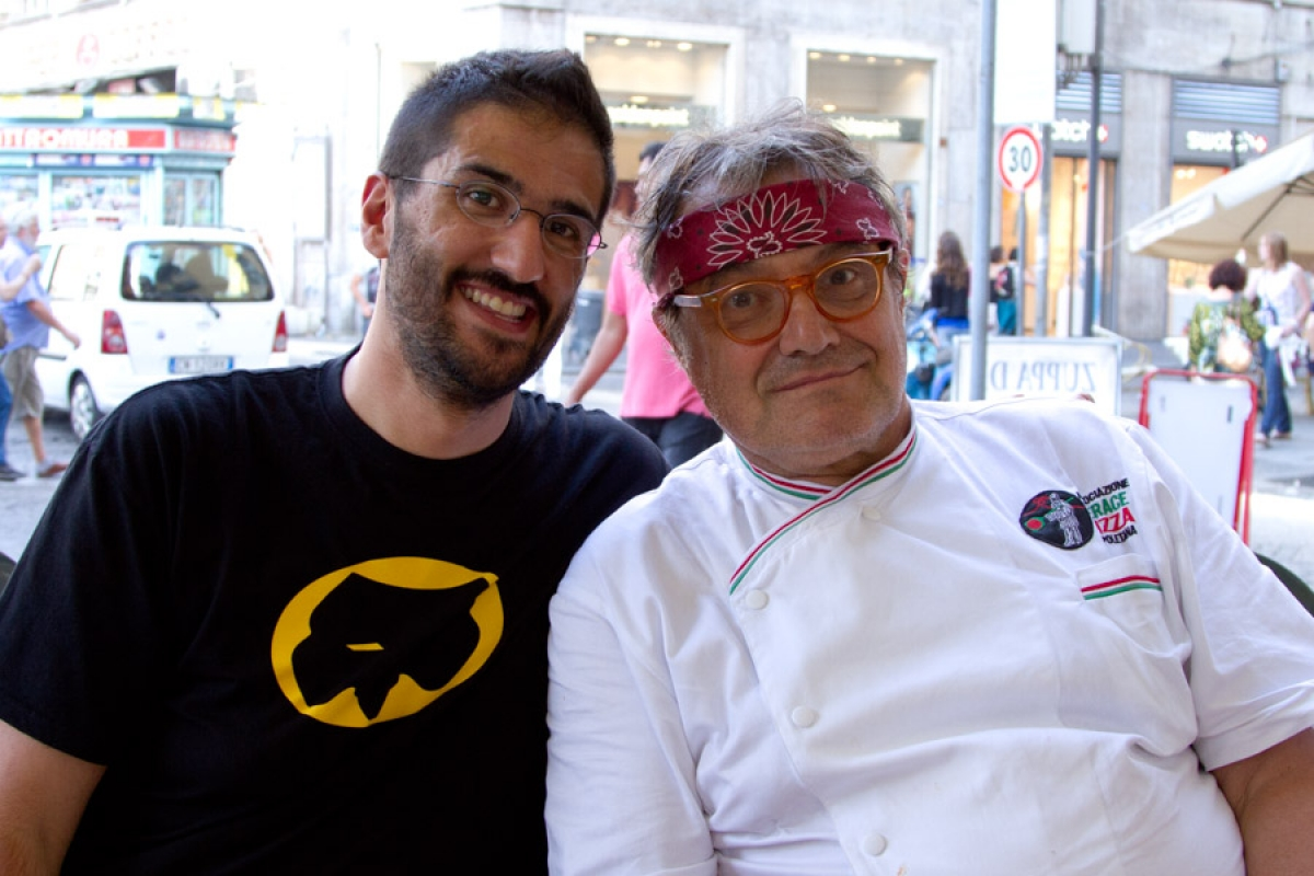 Con Oliviero Toscani