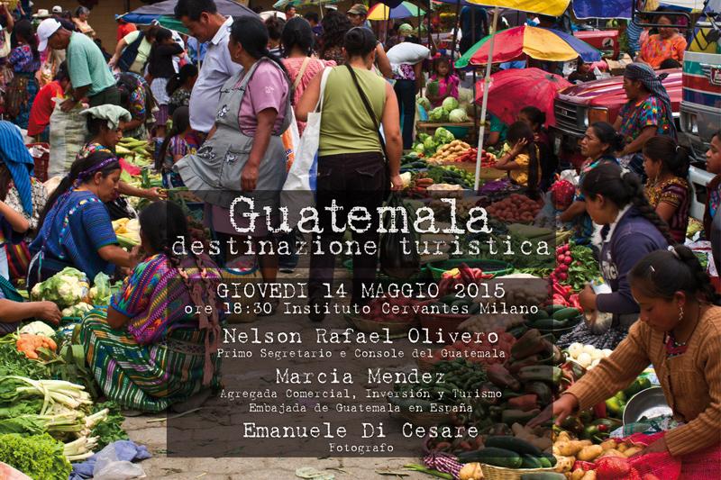 Guatemala, conferenza a Milano