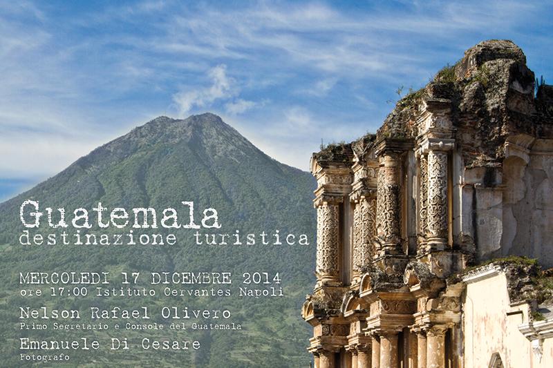 Conferenza sul Guatemala al Cervantes