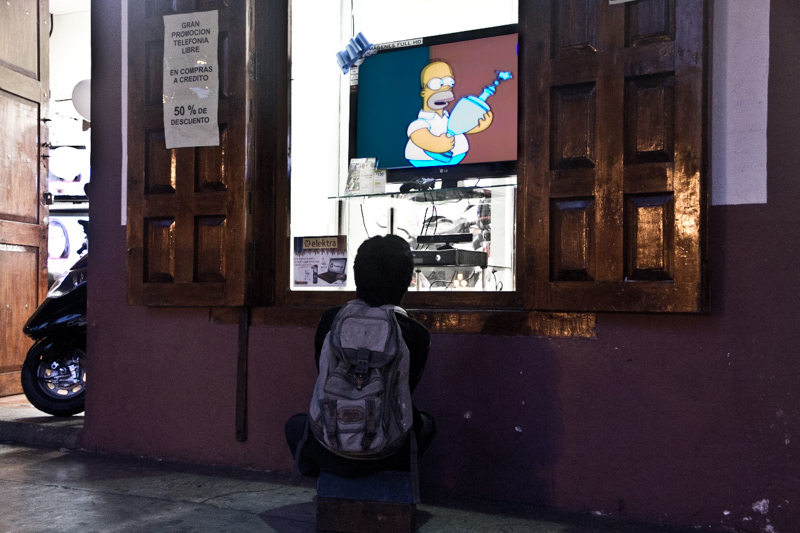 Lustrascarpe a San Cristobal